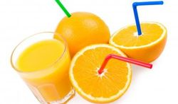 Hypertension : un grand verre de jus d'orange