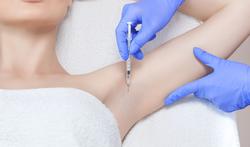 Botox tegen overdadig zweten