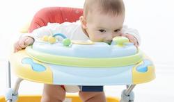 Trotteur pour bébé : danger !