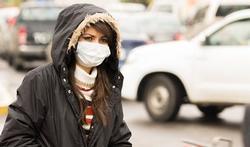 Masques anti-pollution : une efficacité faible, voire nulle