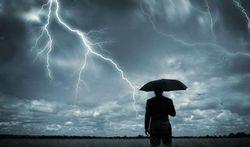 Welke plaatsen kan ik het best vermijden tijdens een onweer?