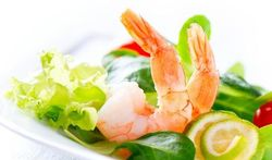 La crevette : riche en protéines, pauvre en calories