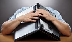 Travailler assis : l'anxiété vous menace