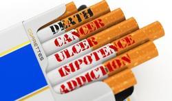 Grotere waarschuwingen op sigarettenpakjes vanaf mei 2016