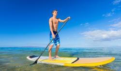 Connaissez-vous le paddle, le surf avec une pagaie ?