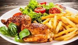 Word je dik als je 's avonds nog veel eet?