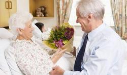 Chambre d'hôpital : les fleurs sont les bienvenues
