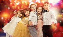 Feest in huis met kinderen