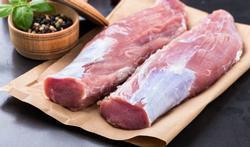 Filet mignon de porc au four et son duo de chou-fleur et jeunes carottes