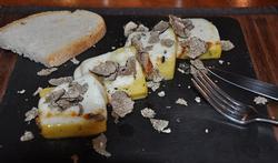 Polenta aux truffes et pecorino