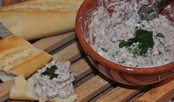 Rillettes de maquereau et de sardine au fromage frais