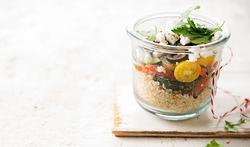 Recette - Salade grecque au quinoa