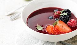 Petite soupe de fruits des bois