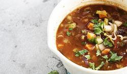 Soupe « minute » aux légumes