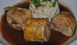 Suprême de poulet et son risotto aux légumes croquants