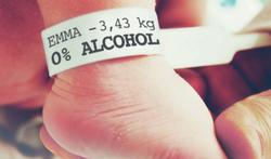 Geen alcohol tijdens zwangerschap en borstvoeding
