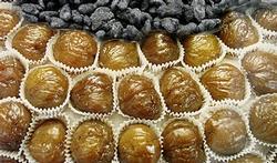 Le marron glacé, la gourmandise des fêtes de fin d'année
