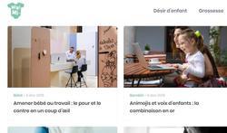 Offre d'emploi - Rédacteur / webmaster francophone pour le site web bébé / maman Minimi.be