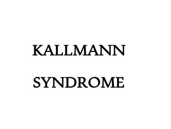 Het syndroom van Kallmann of Hypogonadotroop hypogonadisme en anosmie : slechte reukzin en slecht ontwikkelde geslachtskenmerken