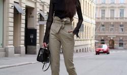 Pantalon paper bag : comment bien le porter ?