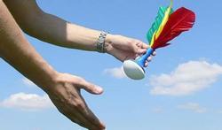 La pétéca : un mélange de badminton et de volley