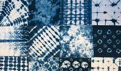 Le shibori, l'art japonais de teindre les tissus